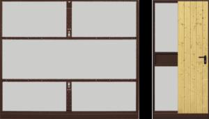 vyklopna vrata Motiv 905 | Vrata Kolář