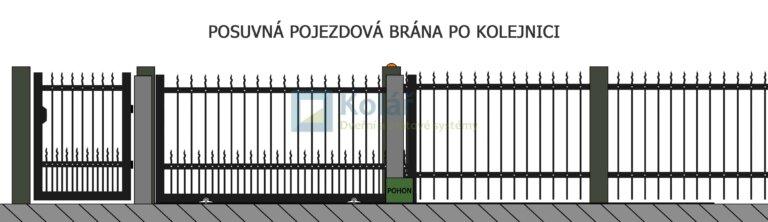 brany posuvne 34 | Vrata Kolář