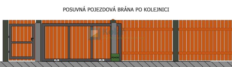 brany posuvne 38 | Vrata Kolář