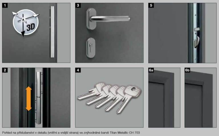 domovni vchodove dvere 10 | Vrata Kolář