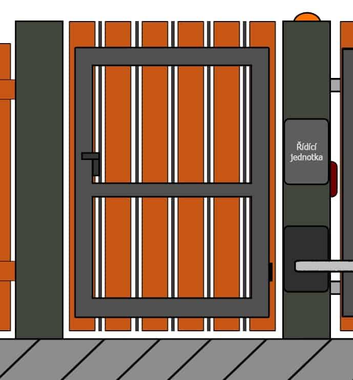 vchodove branky 11 | Vrata Kolář