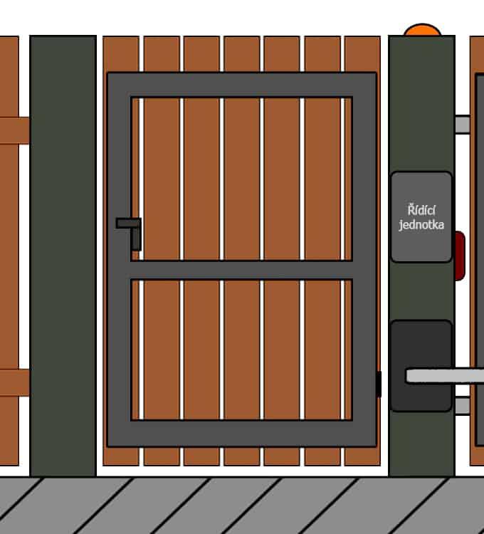 vchodove branky 16 | Vrata Kolář