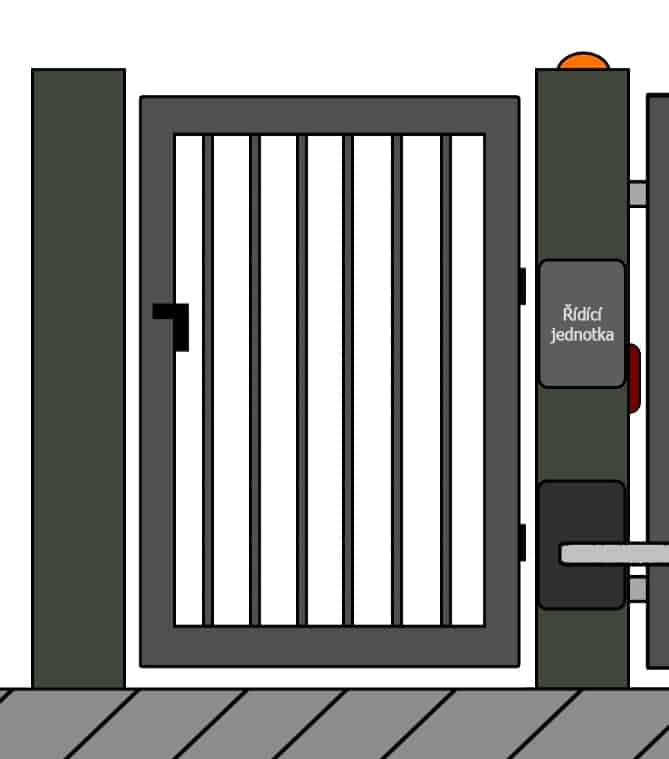 vchodove branky 21 | Vrata Kolář