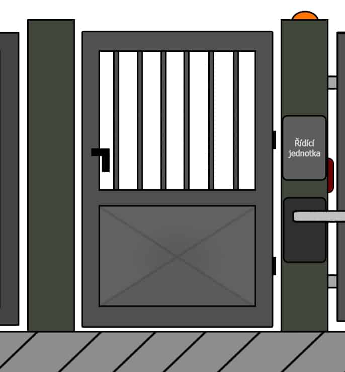 vchodove branky 23 | Vrata Kolář