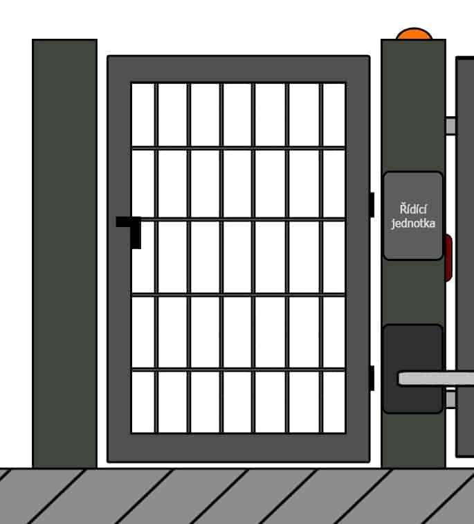 vchodove branky 25 | Vrata Kolář