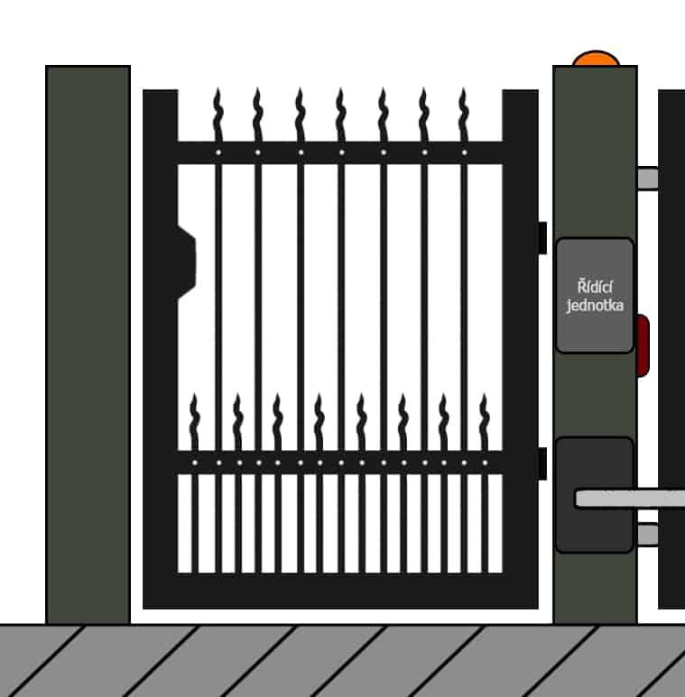 vchodove branky 31 | Vrata Kolář