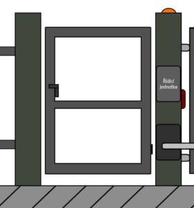 vchodove branky 4 | Vrata Kolář