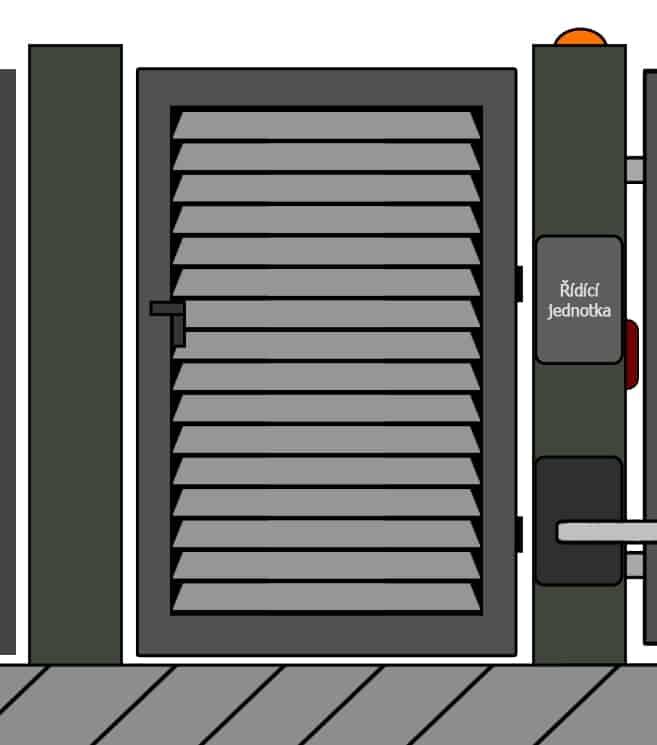 vchodove branky 5 | Vrata Kolář